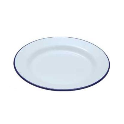 """Enamel Plate 7.9"""" (20cm)"""