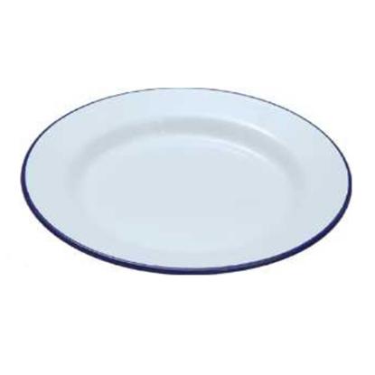 """Enamel Plate 9.4"""" (24cm)"""