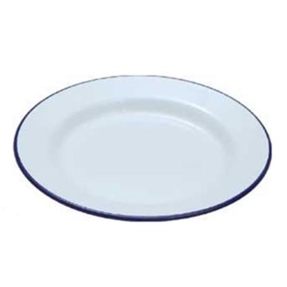 """Enamel Plate 10.2"""" (26cm)"""