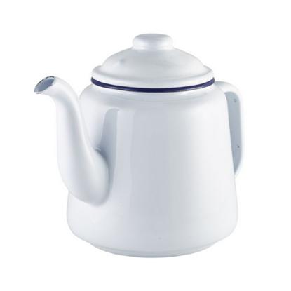 Enamel White Teapot 1.5L