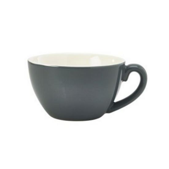 Royal Genware Grey Bowl Shaped Cup 34cl (12oz)