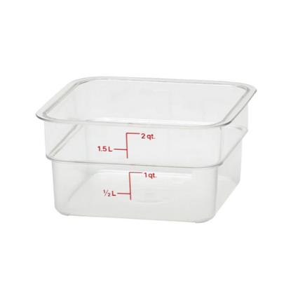 Square Food Storage Container 1.9L