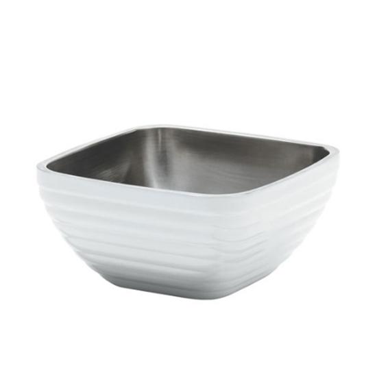 Square Pearl White Serving Bowl 1.7L