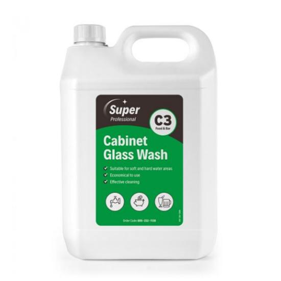 Super Professional Glasswash Detergent 5L