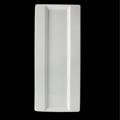 "Steelite Monaco Frame Five Plate 14""X6"" (35.5cm X 15.25cm)"