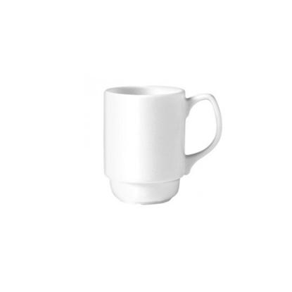 Steelite Monaco White Stacking Beaker 26cl (9oz)