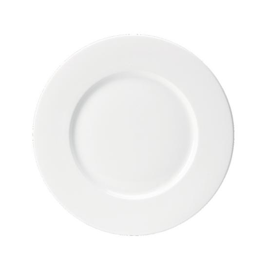 """Steelite Monaco White Wide Rim Plate 12.5"""" (32cm)"""