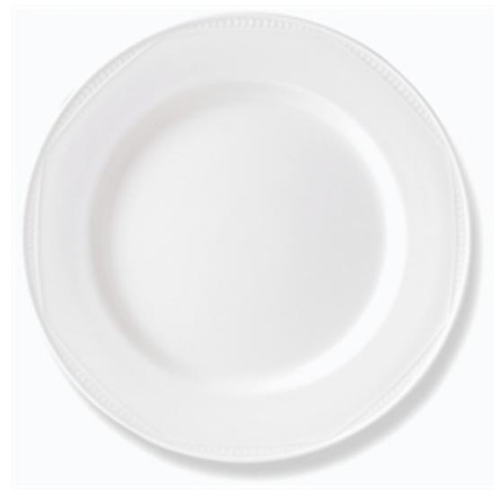 """Steelite Monte Carlo White Plate 10.5"""" (27cm)"""