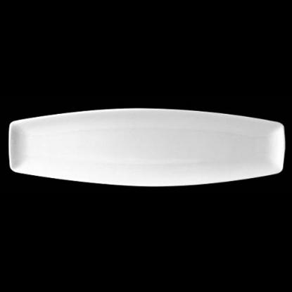 "Steelite Neo White Plate 14""X4"" (35.5cm X 10cm)"