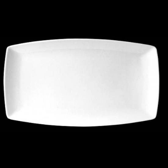 "Steelite Neo White Plate 14""X8"" (35.5cm X 20.25cm)"