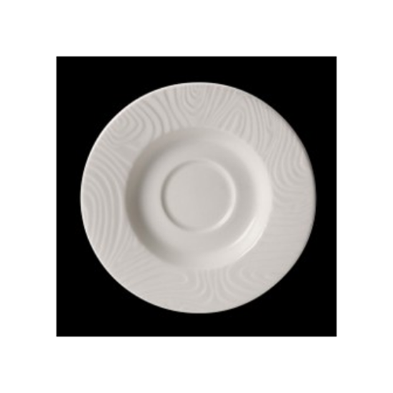 "Steelite Optik Saucer 6.5"" (16.5cm)"