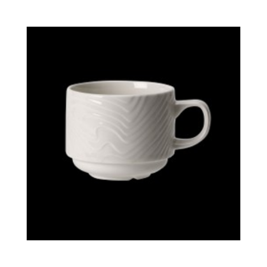 Steelite Optik Stacking Cup 21.25cl (7.5oz)