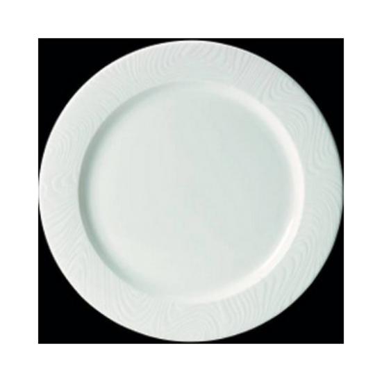 "Steelite Optik Flat Rim Plate 10.5"" (27cm)"