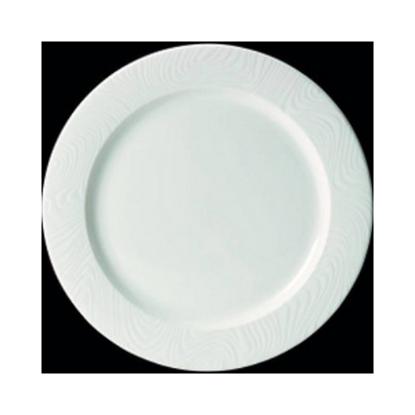 "Steelite Optik Flat Rim Plate 10"" (25.5cm)"