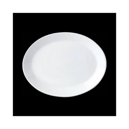 "Steelite Oval Coupe Plate 8"" (20.25cm)"