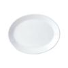 "Steelite Oval Coupe Plate 10"" (25.5cm)"