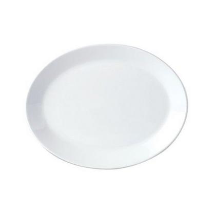 "Steelite Oval Coupe Plate 11"" (28cm)"