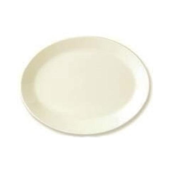 "Steelite Plain Ivory Oval Dish 12"" (30.5cm)"