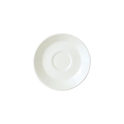 "Steelite Plain Ivory Slimline Saucer 6"""