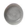 "11"" (28cm) Steelite Scape Grey Bowl"