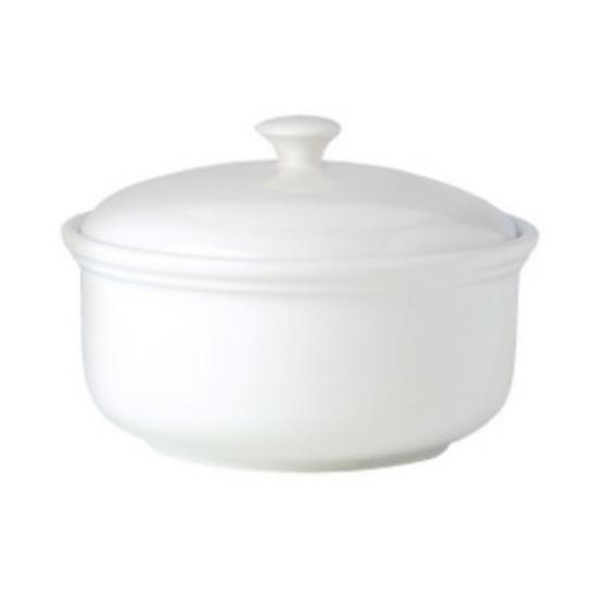 Steelite Simplicity White Casserole Dish 2L
