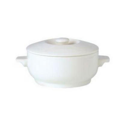 Steelite Simplicity Complete Covered Soup Bowl 42.5cl (15oz)