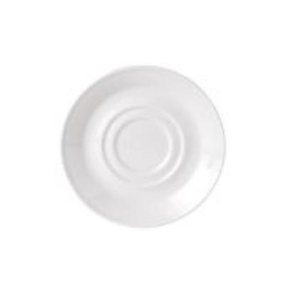 "Steelite Simplicity Double Well Saucer 4.5"" (11.75cm)"