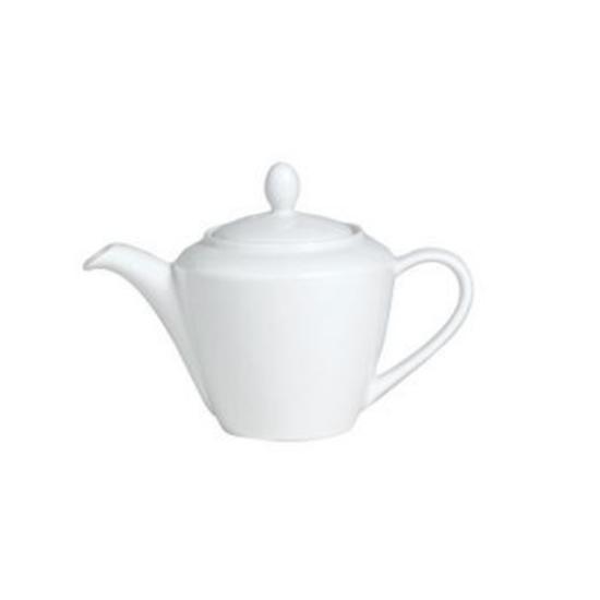 Steelite Simplicity White Harmony Teapot 85.25cl (30oz)