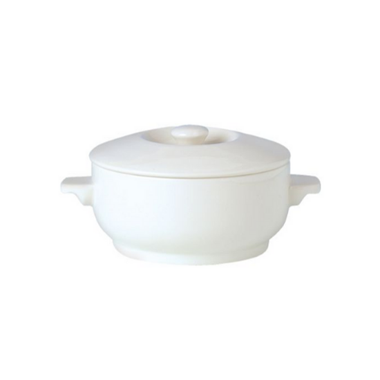 Steelite Simplicity Lid For Complete Covered Soup Bowl
