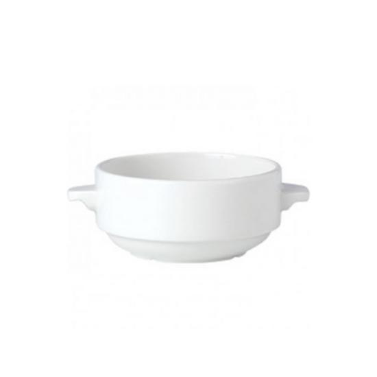 Steelite Simplicity Lugged Soup Cup 28.5cl (10oz)