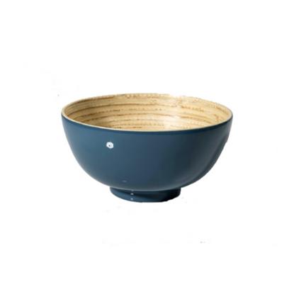 "Teal Bambou Bowl 5.5"" (14cm)"