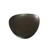 """Terra Dark Brown Plate 11"""" (27.5cm)"""
