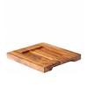 "Wooden Board 7""X6.3"" (18x16cm)"
