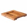 "Wooden Serving Board 7.5""X7.5"" (19cmx19cm)"