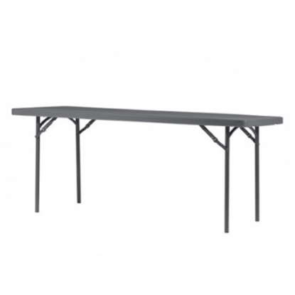 "Zown Rectangular Folding Table 6ft 72""X30""X29"" (183cmx76.2cmx74cm)"