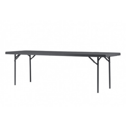 "Zown Rectangular Folding Table 8ft 96""X30""X29"" (243.8cmx76.2cmx74cm)"