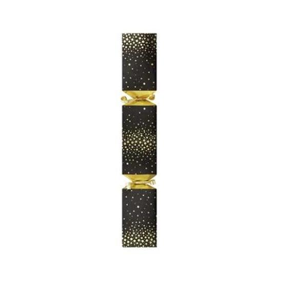 """Black Square Party Cracker 12"""" (30.5cm)"""
