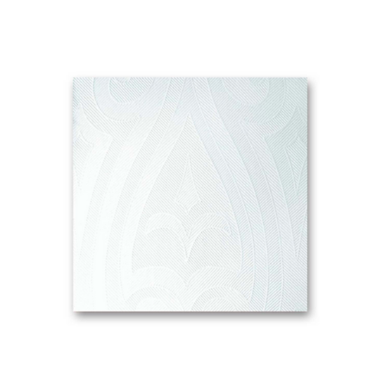 "Duni Elegance Lily White Napkins 1/8 15.7"" (40cm)"