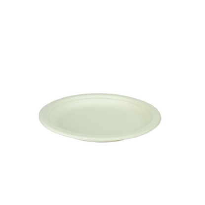"""Compostable Bagasse Plate 9"""" (22.9cm)"""