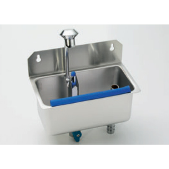 Wall Mounted Cleaning Sink For Ice Cream Scoops