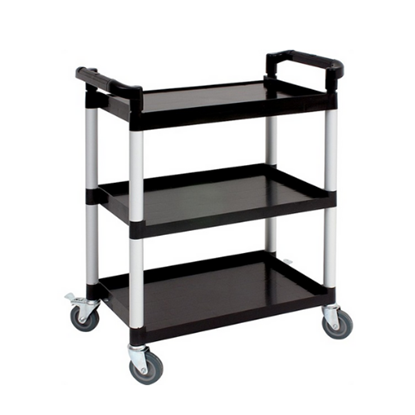Genware Large 3 Tiered Utility Trolley