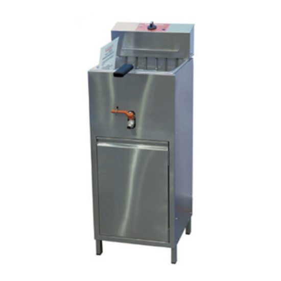 Valentine TF10 Compact Fryer Single
