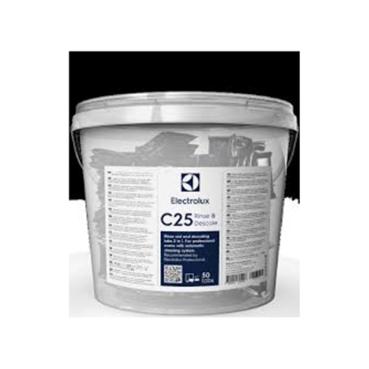C25 Descale & Rinse Powder Tablets For Electrolux Skyline Oven