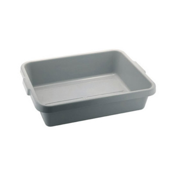 "Storage Tote Box Grey 21x15.5"" (53.3x39.4)"
