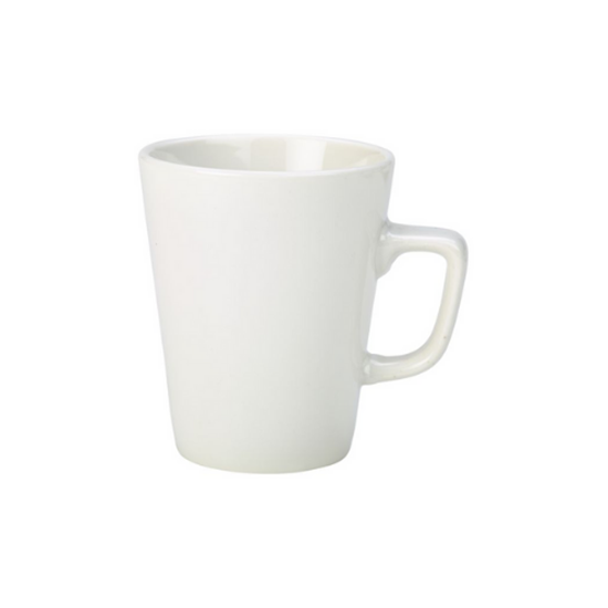 RG Plain White Latte Mug 34cl (12oz)