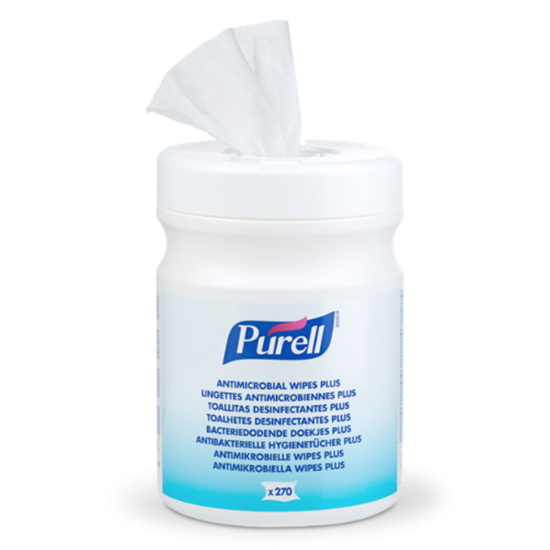 Purell Antimicrobial Hand Wipes Plus