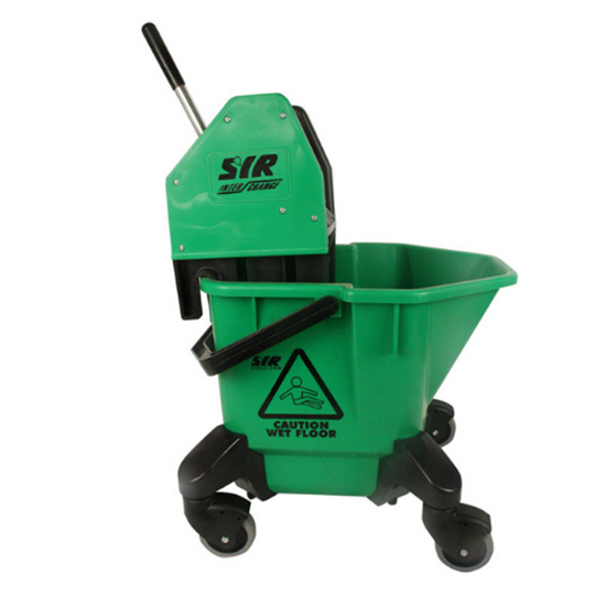 Green Mop Bucket & Wringer