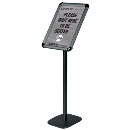 A4 'Please Wait To Be Seated' (Grey & Black)