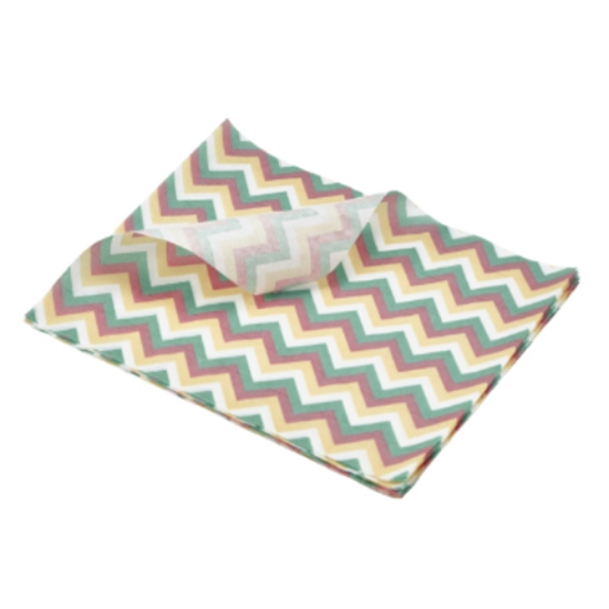 Greaseproof Paper Chevron Print