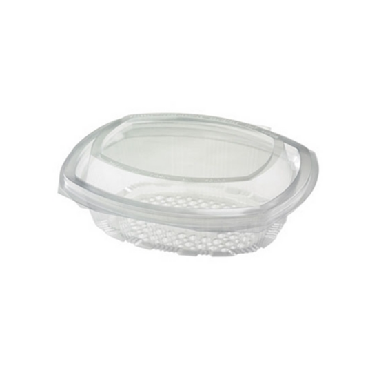 Oval Hinged Salad Container 375cc